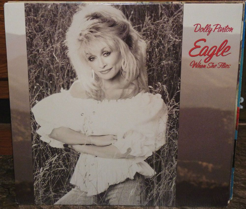 DOLLY PARTON Eagle When She Flies (1991 LP) Brand New SEALED!