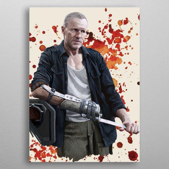 Merle by Jamie Stephens | metal posters - Displate | Displate thumbnail