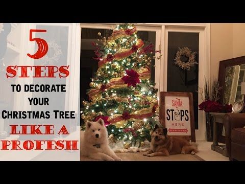 Continuing on in our How to Decorate Your Christmas Tree Series ...