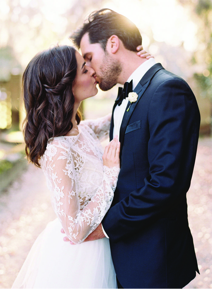 Spring bride and groom portraits classy elegant timeless tuxedo suit rentals the black tux wedding kisswedding junglespirit Images