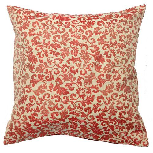 Fairmont Park A soft and cosy cushion, simple in its floral embroidery but bold in its colour. Colour: Orange