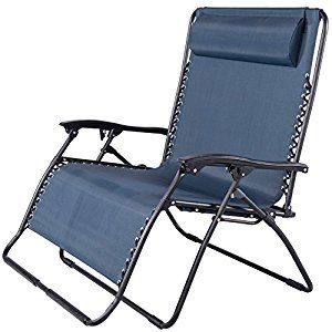 Huge Lawn Chair Graco High Chairs Target Amazon Com Toucan Outdoor Folding 2 Person Gravity Double Wide Patio Lounger Navy Blue Garden