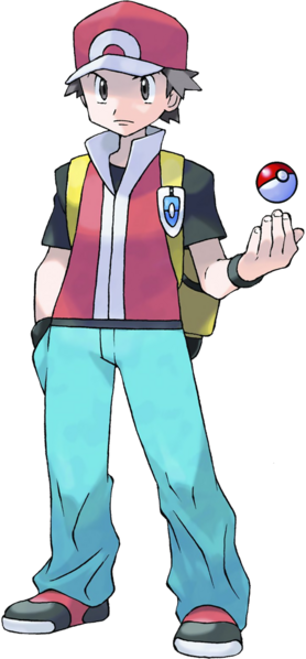 Red Pokemon Trainer Pokemon Trainer Red Pokemon Firered Pokemon Red
