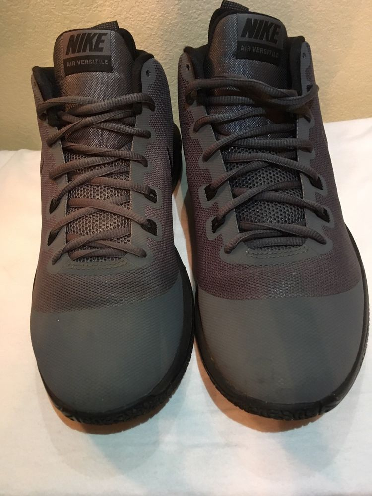 super popular d9d18 a81c9 Nike Air Versitile Men s Basketball Shoes Silver   Black Size 10  fashion   clothing  shoes  accessories  mensshoes  athleticshoes (ebay link)