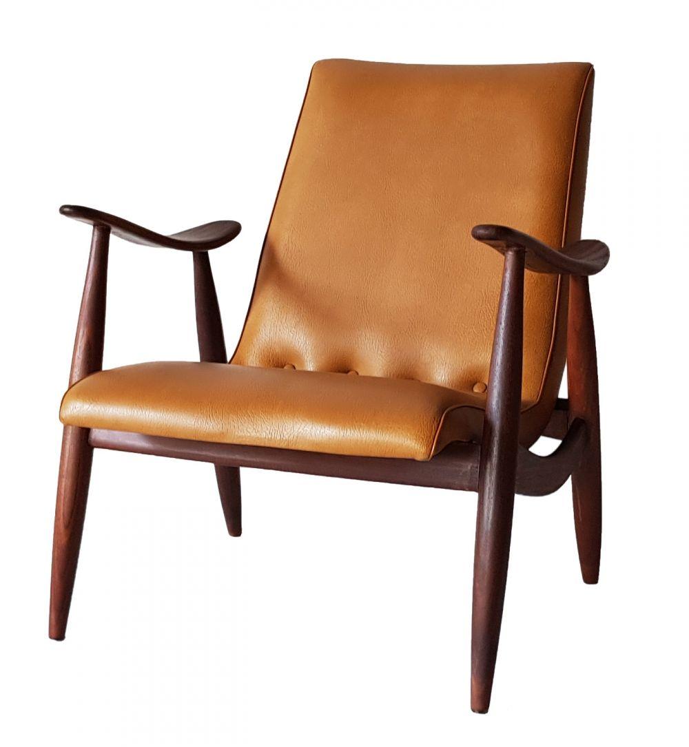 Arm Chair By Louis Van Teeffelen