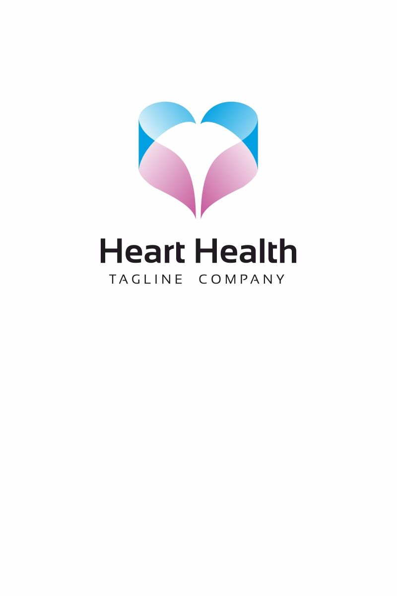 Heart Health Is A Logo That Can Be Used In E Institus Health Center Hospital Can Also Be Used In Non Profit Organizat Health Logo Heart Health Health Center