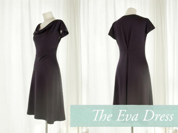 the eva dress | patroontjesbib - VROUWEN | Pinterest | Schnittmuster ...