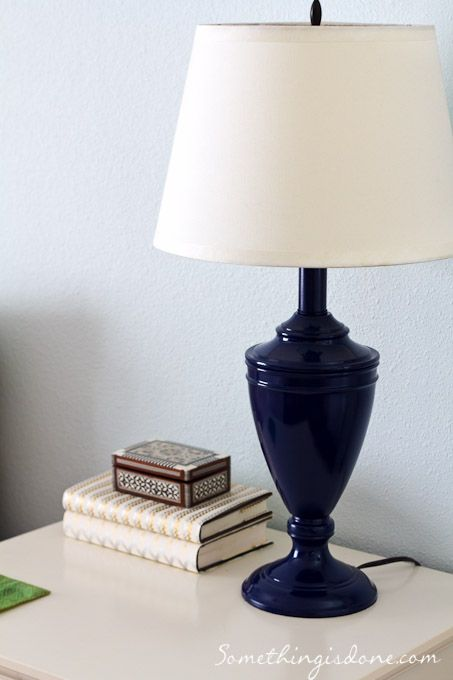 Bedside Lamps Navy   Google Search