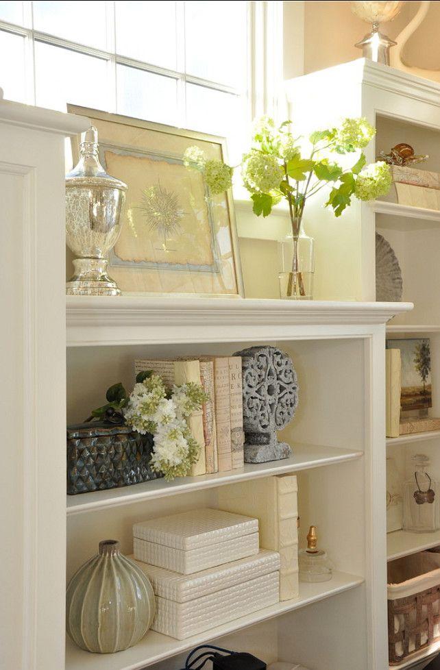 Decorating Bookshelves   Decorate bookshelves and Decorating
