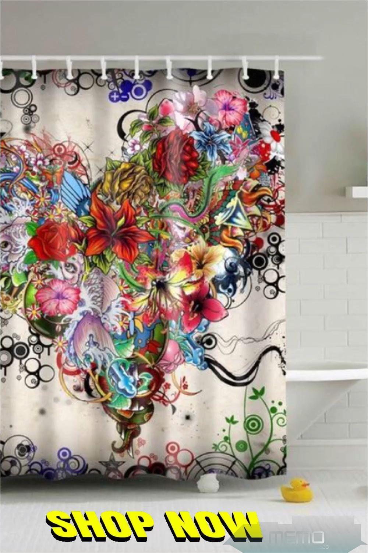 1 Mar 2020 Custom Fabric Bathroom Shower Curtain Features High Quality Silky Satin In 2020 Fabric Shower Curtains Floral Shower Curtains Bathroom Shower Curtains