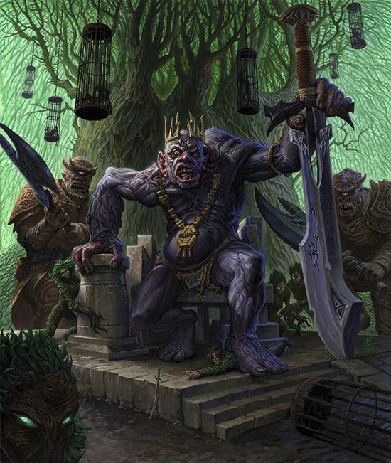 LEGENDS OF THE LAND: FORMORIANS, hideously misshapen ... Balor Myth
