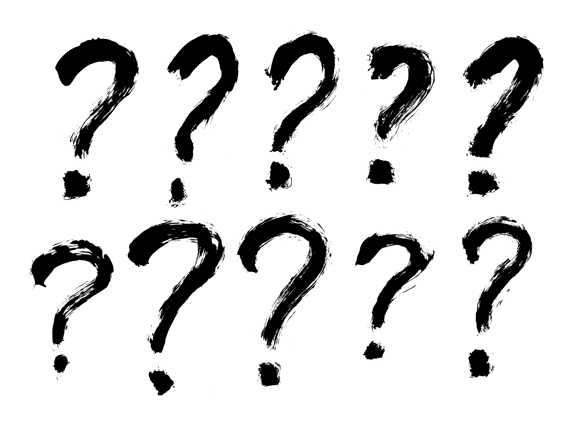 10 Grunge Question Mark Png Transparent Onlygfx Com Question Mark Wedding Gifts For Couples Unique Wedding Gifts