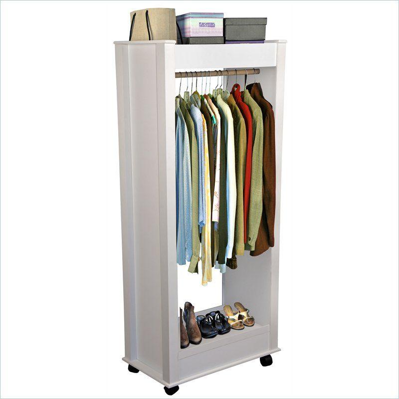 Venture Horizon U0027Mighty Closetu0027   Compact Mobile Wardrobe   4039