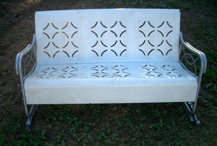 Vintage Glider Sofa For The Porch Lawn Furniture Furniture