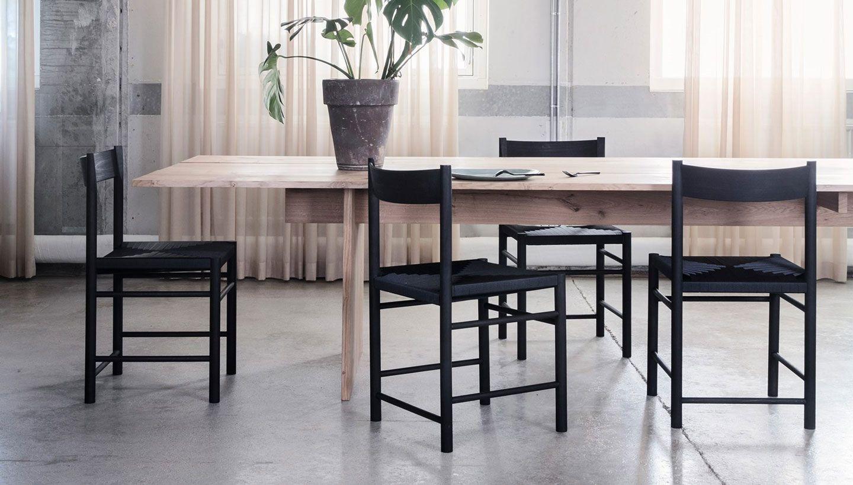 modern furniture brand. Danish Furniture Brand Brdr Krüger Has Partnered With Designer Rasmus Bækkel Fex To Create A Shaker-influenced Chair Woven Seat. Modern