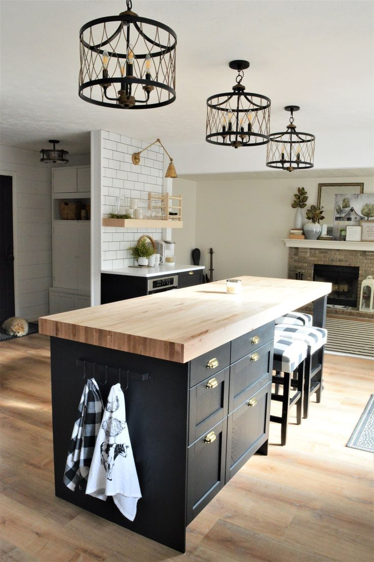 Kitchen Renovation…builder grade to custom, Modern Farmhouse design