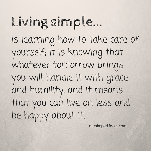 Simple Life Quotes How To Get Started Living A Simple Life  Pinterest  Big Houses