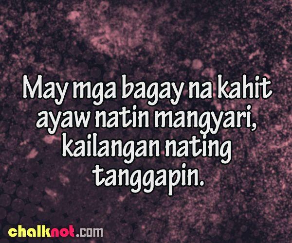 Mga Tagalog Inspirational Quotes | Inspiration, Love ...