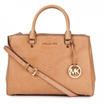Michael Kors nude bag. Love the gold