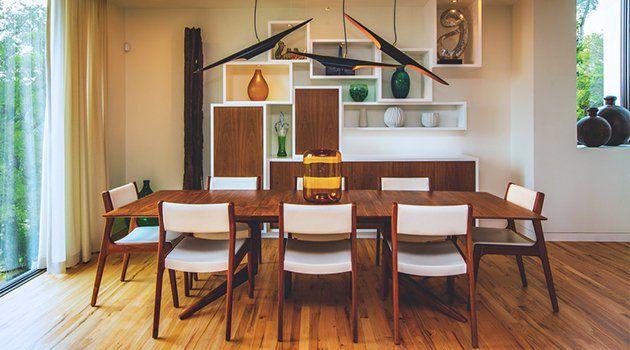 15 vintage mid century modern dining room designs youre going to love - Mid Century Modern Dining Rooms
