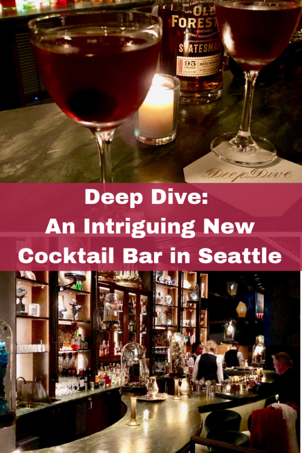 Deep Dive An Intriguing New Cocktail Bar In Seattle Cocktails Craft Cocktails Seattle
