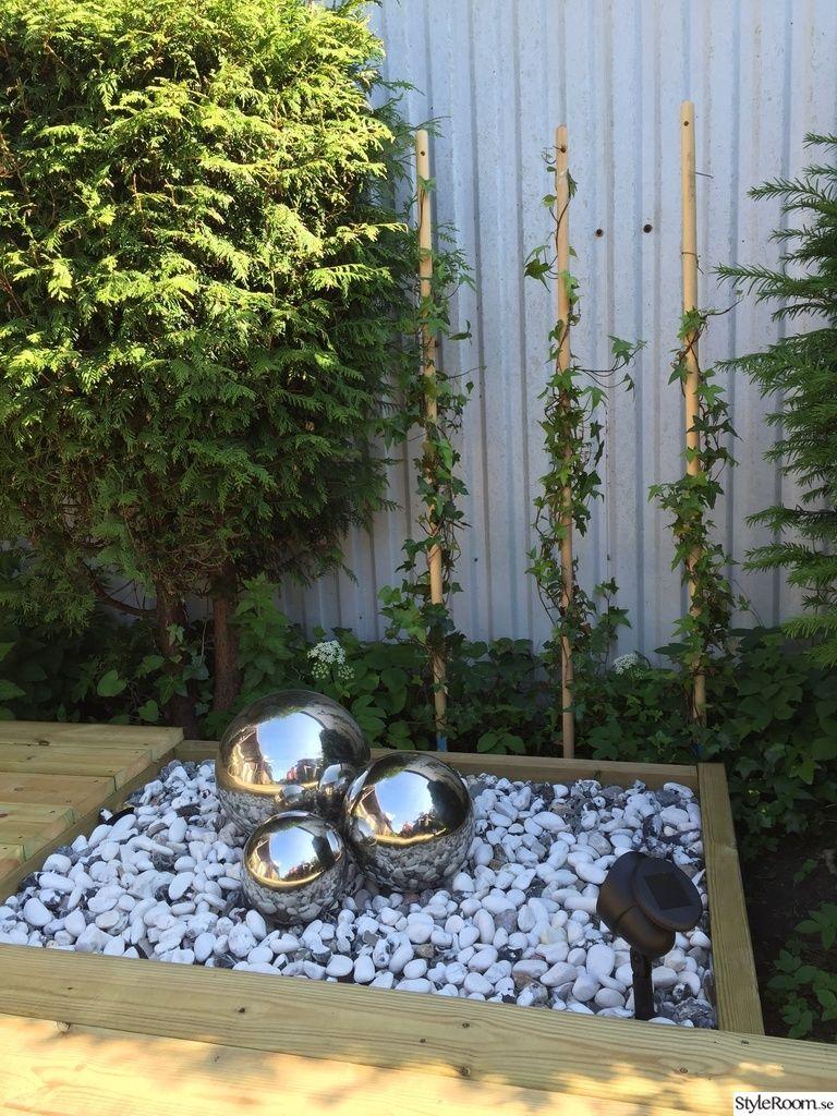 dekoration i trädgården