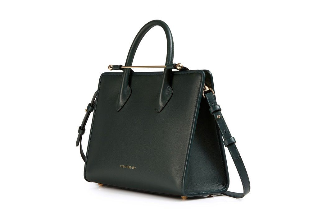 a57db3d6bb The Strathberry Midi Tote - Bottle Green