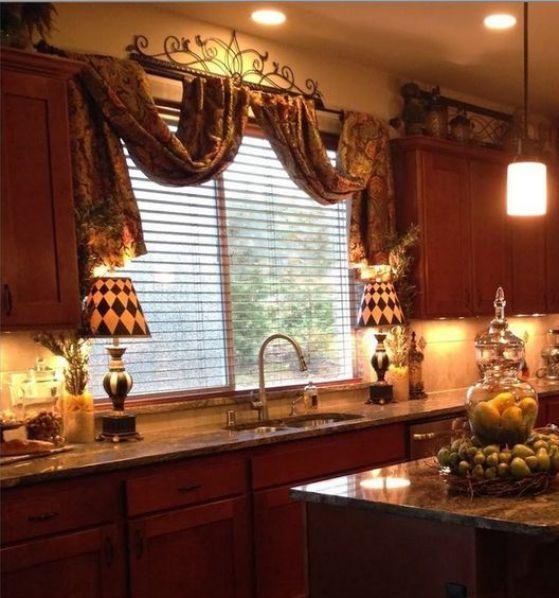 cortina cocina de madera | Decor ideas | Pinterest | Kitchens ...