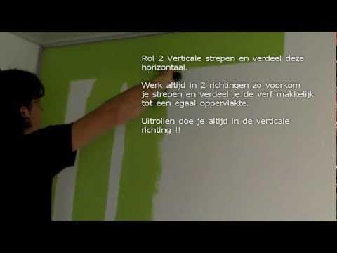 Muren Afplakken Schilderen.Muren Verven Zonder Afplakken Voortaan Altijd Strakke Lijnen