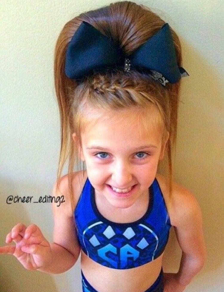 Cute Cheer Hair Cheerleading Hairstyles Cheer Hair Cute Ponytail Hairstyles