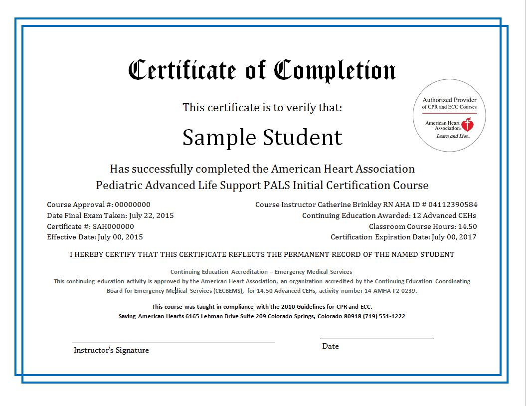 Printable Certification Of Completion Template In 2021 Education Certificate Certificate Templates Continuing Education