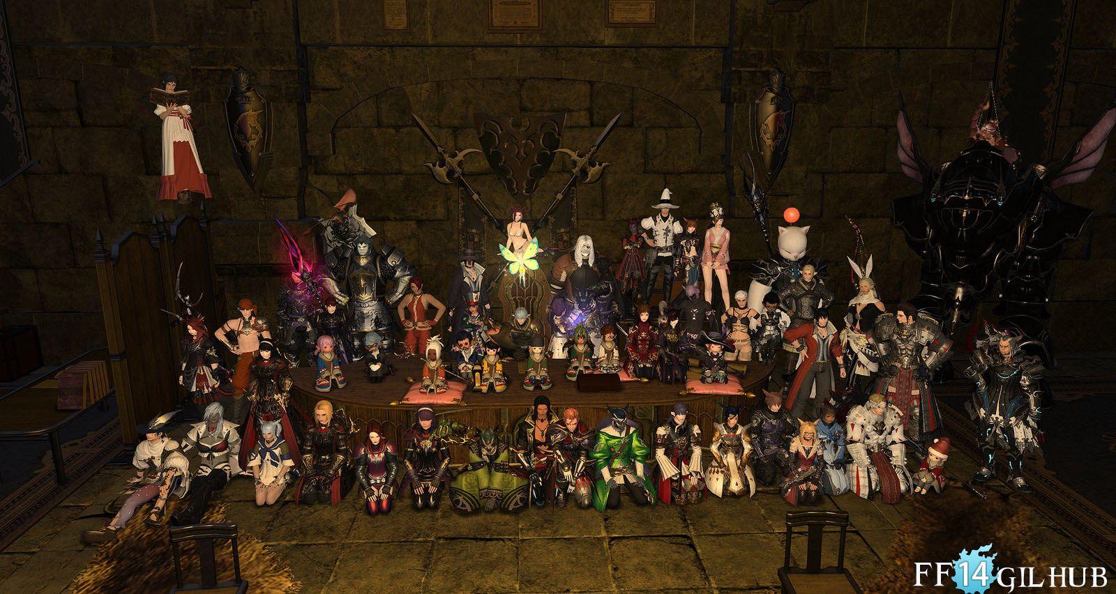 Final Fantasy Xiv Free Companys Themselves Are The Leader S Property Final Fantasy Xiv Final Fantasy Fantasy