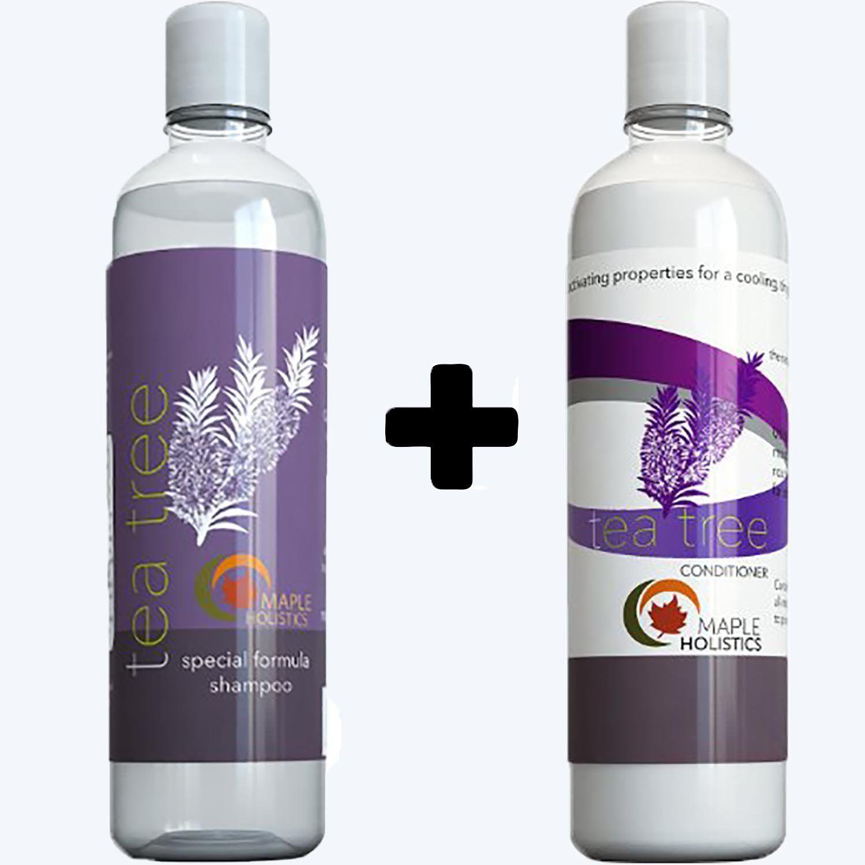 Tea Tree Oil Shampoo And Hair Conditioner Set Natural Anti