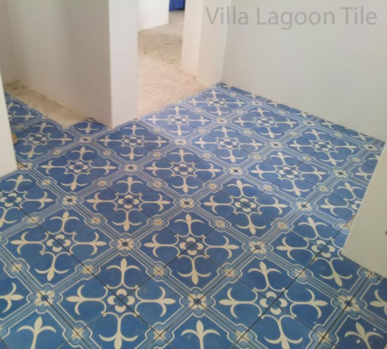 Bright Blue Bathroom Tile One Of Our Classic Favorites Above
