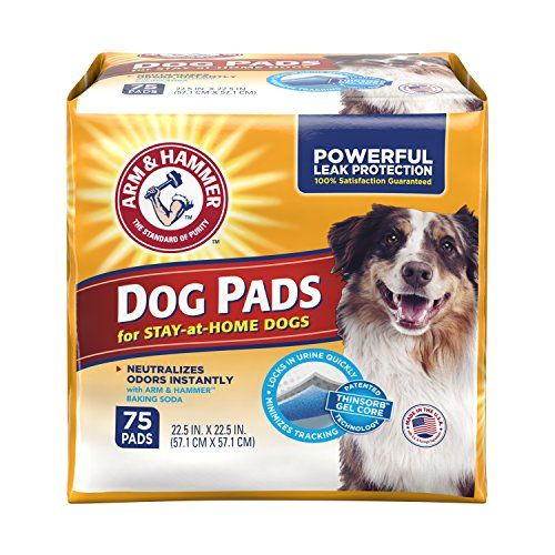Arm Hammer Ultra Absorbent Adult Dog Pads 75 Count For More