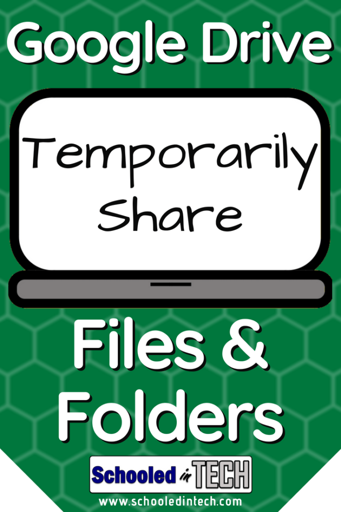 Google Drive Let S You Share Files Forever Or Temporarily If Your Have A Google For Education Or Google For Business Google Education Google Drive Tech School