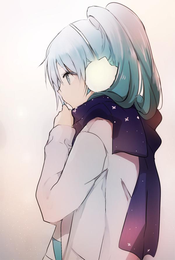 adorable anime anime girl blue hair cute drawing hatsune miku