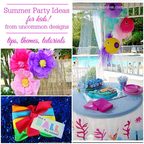 Craft Ideas For Kids Party Part - 36: Party Ideas Kids