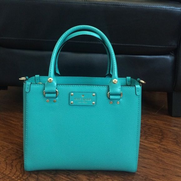 Kate Spade small Quinn turquoise handbag New with tags. kate spade Bags f0be061da0f3b