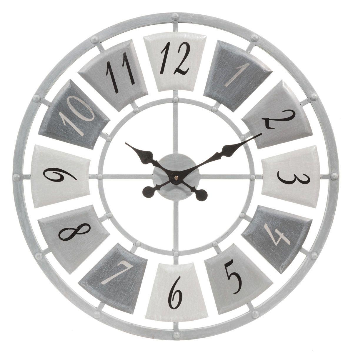 Horloge En Métal D 62 Cm Horloge Metal Horloge Et Horloge