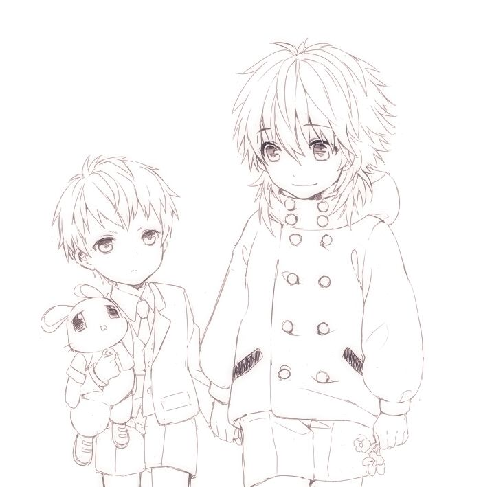Baby aoba and baby noiz