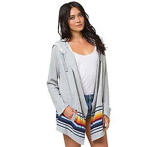 #billabong #womens #things #to #come #scheels #scheelsstyle #sweater #cardigan #fashion #style #fall #fallfashions #2014 #backtoschool #school #retro #stripes #athletic #grey #TBT