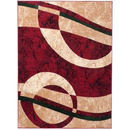 Taurean Red Rug 17 Stories Rug Size: Rectangle 200 x 300cm