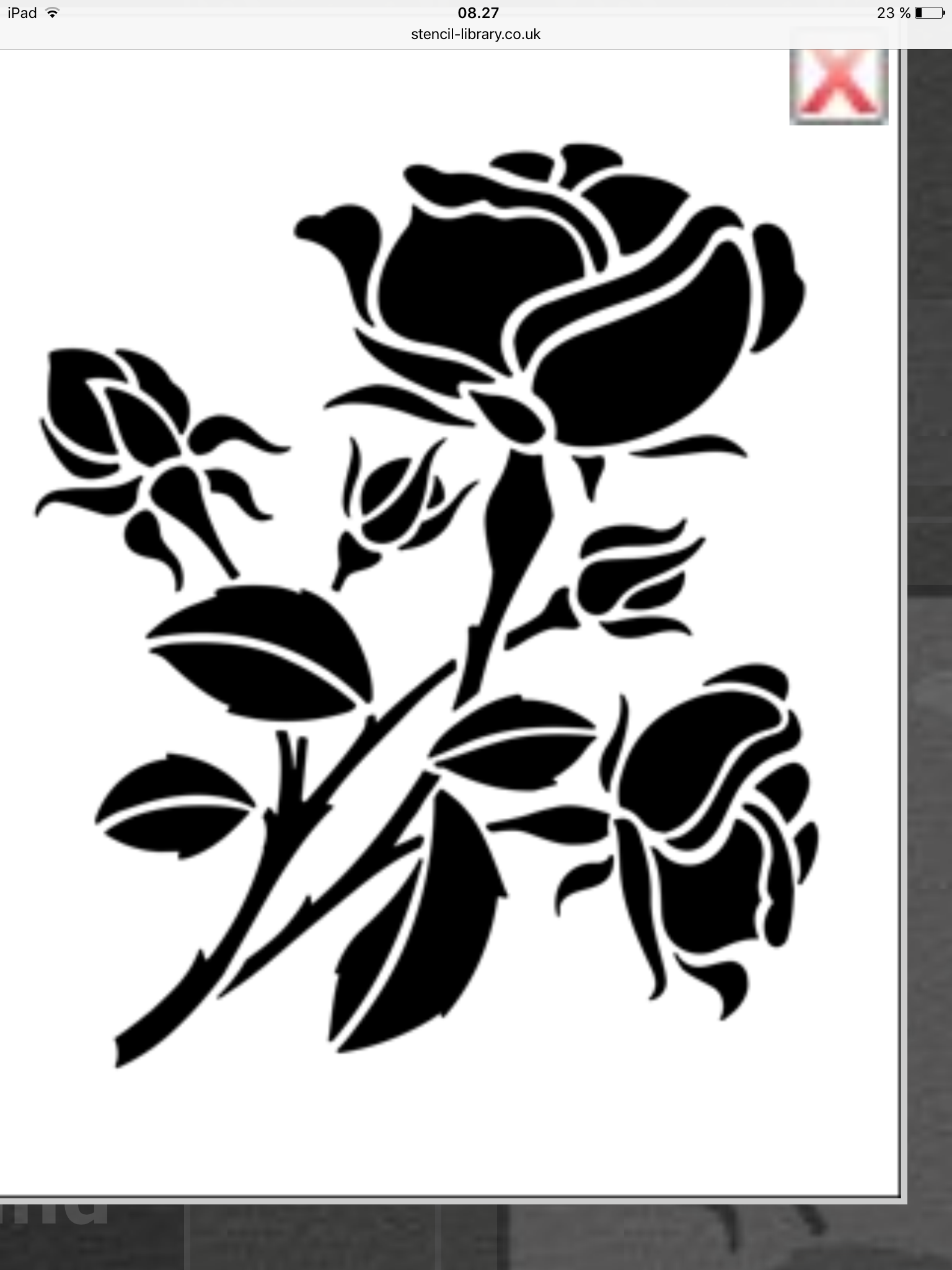 Pin by toril ytrelid on oregami pinterest stenciling rose stencil from the stencil library budget stencils range stencil code amipublicfo Images