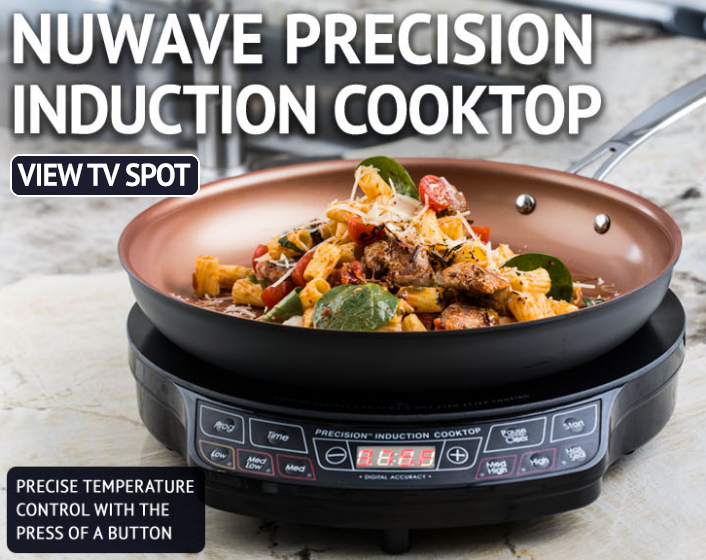 The Nuwave Oven As Seen On Tv Uses Infrared Technology To Cook Up To 50 Faster Than A Conventional Oven The Only C Induction Cooktop Nuwave Countertop Oven