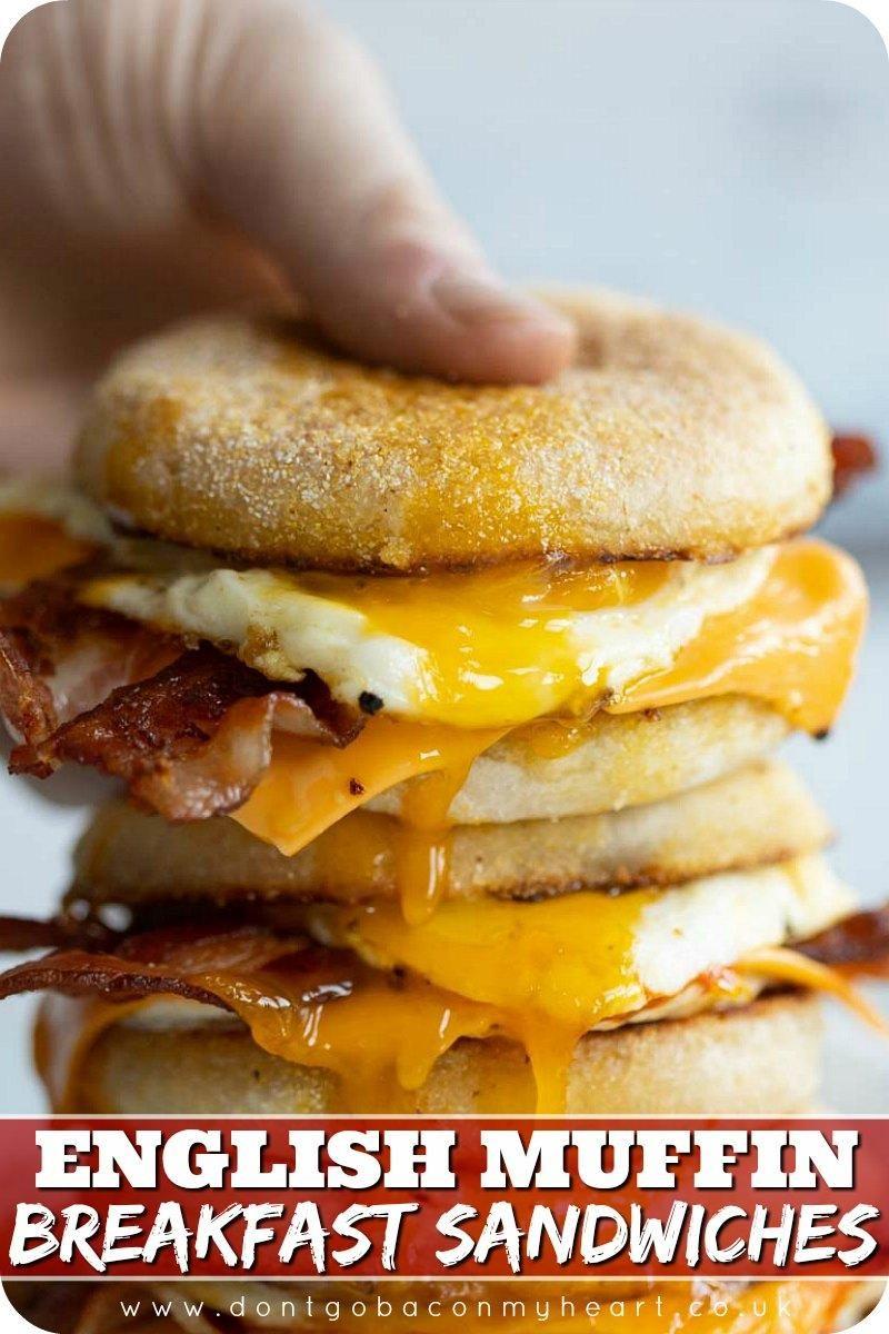 Photo of English Muffin Breakfast Sandwiches
