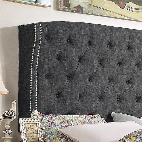Found it at Wayfair.ca - Romana Upholstered Panel Bed
