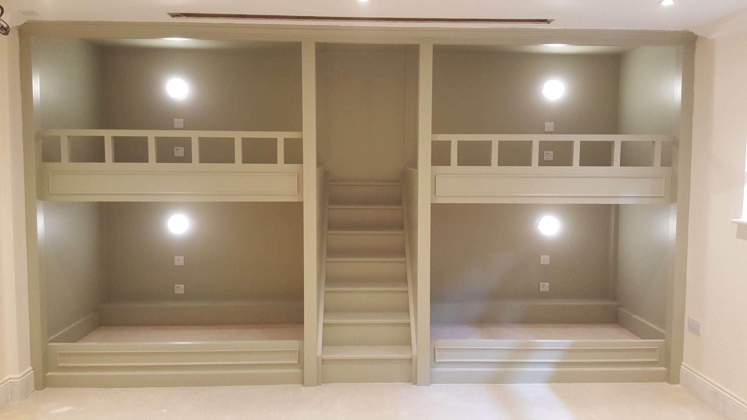 With Slide in 2020 Diy bunk bed, Bunk bed designs, Bunk