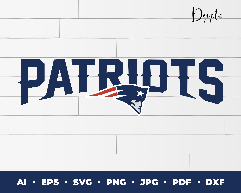New England Patriots Logo text svg patriots cricut new