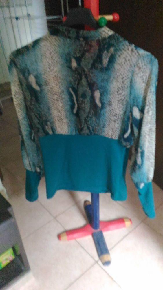 *Lotto 43* maglietta donna a manica lunga, metà semi trasparente taglia S